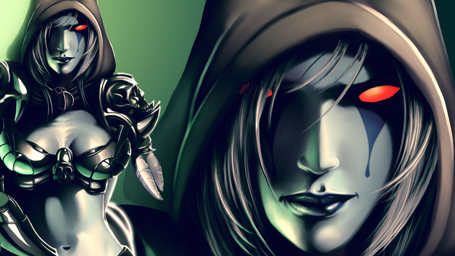sylvanas windrunner wallpaper