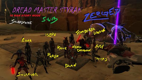 Dread Master Styrak 16M SM